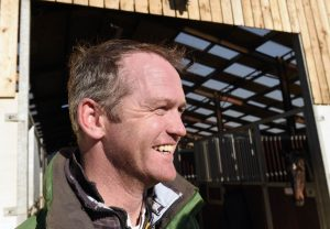 Tizzard is enjoying life as an assistant trainer