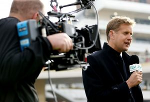 ITV gained the contract to broadcast terrestrial racing, taking over from Channel 4