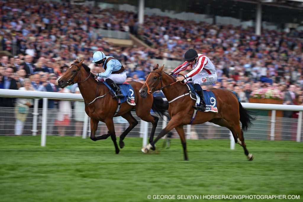 Fairyland wins the Lowther Stakes