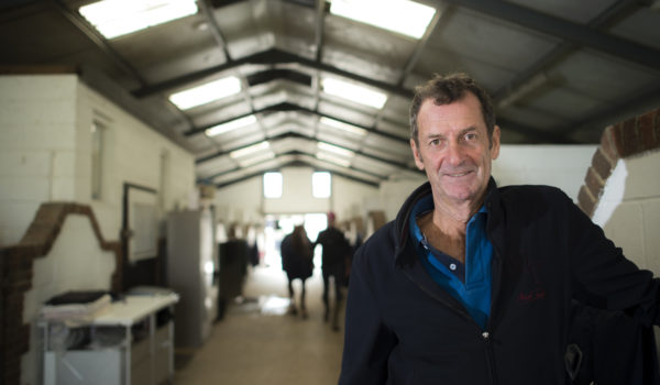 Sir Mark Todd at his stables
