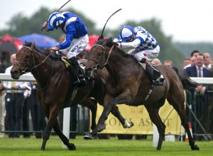Al Kazeem beats Mukhadram in the Prince Of Wales's Stakes