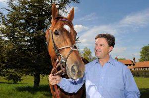 Animal Kingdom and trainer Graham Motion
