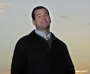 Carter Carnegie, the new International Executive for GBRI