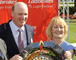 John Gosden and Rachel Hood hoping for Oaks glory with homebred Gertrude Versed