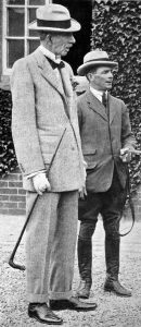 Hurry On was cherished by owner Lord Woolavington (left) and trainer Fred Darling