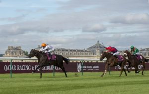 Vadamos sails clear in the second Group 1 on Arc trials day