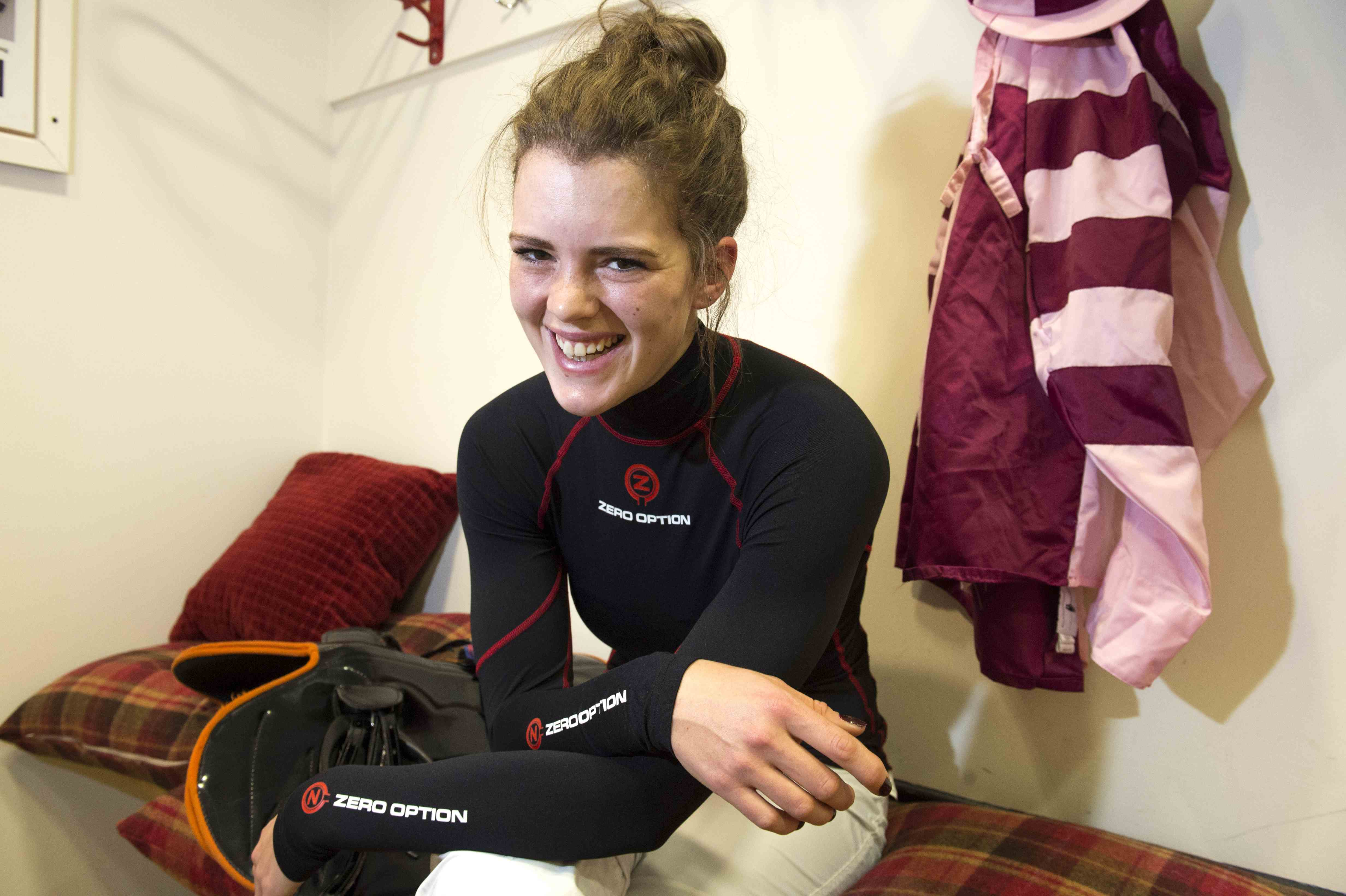 Lizzie Kelly: enjoying race riding and the camaraderie of the weighing room
